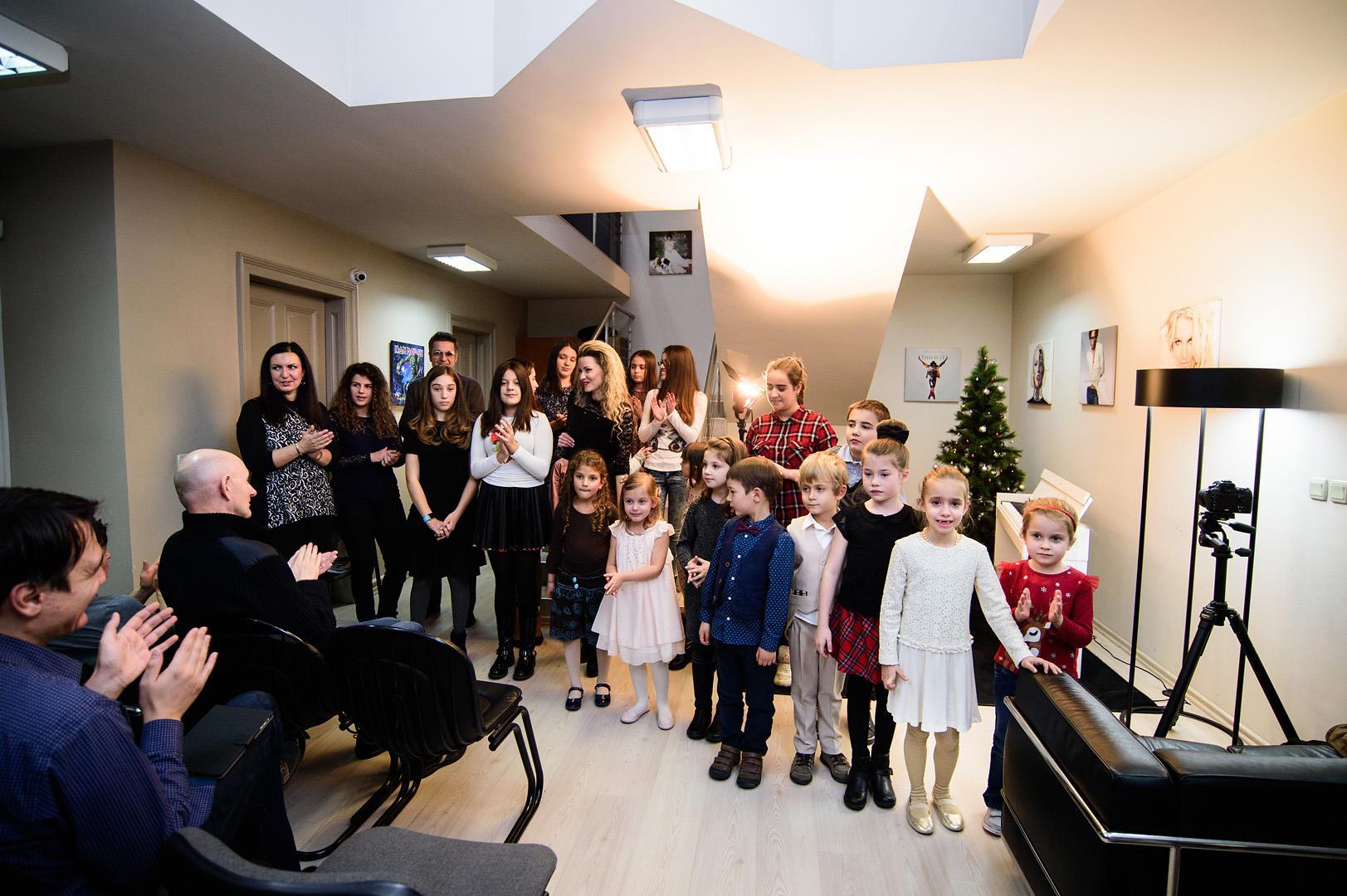 Концерт по пиано на ученици от XS Artists